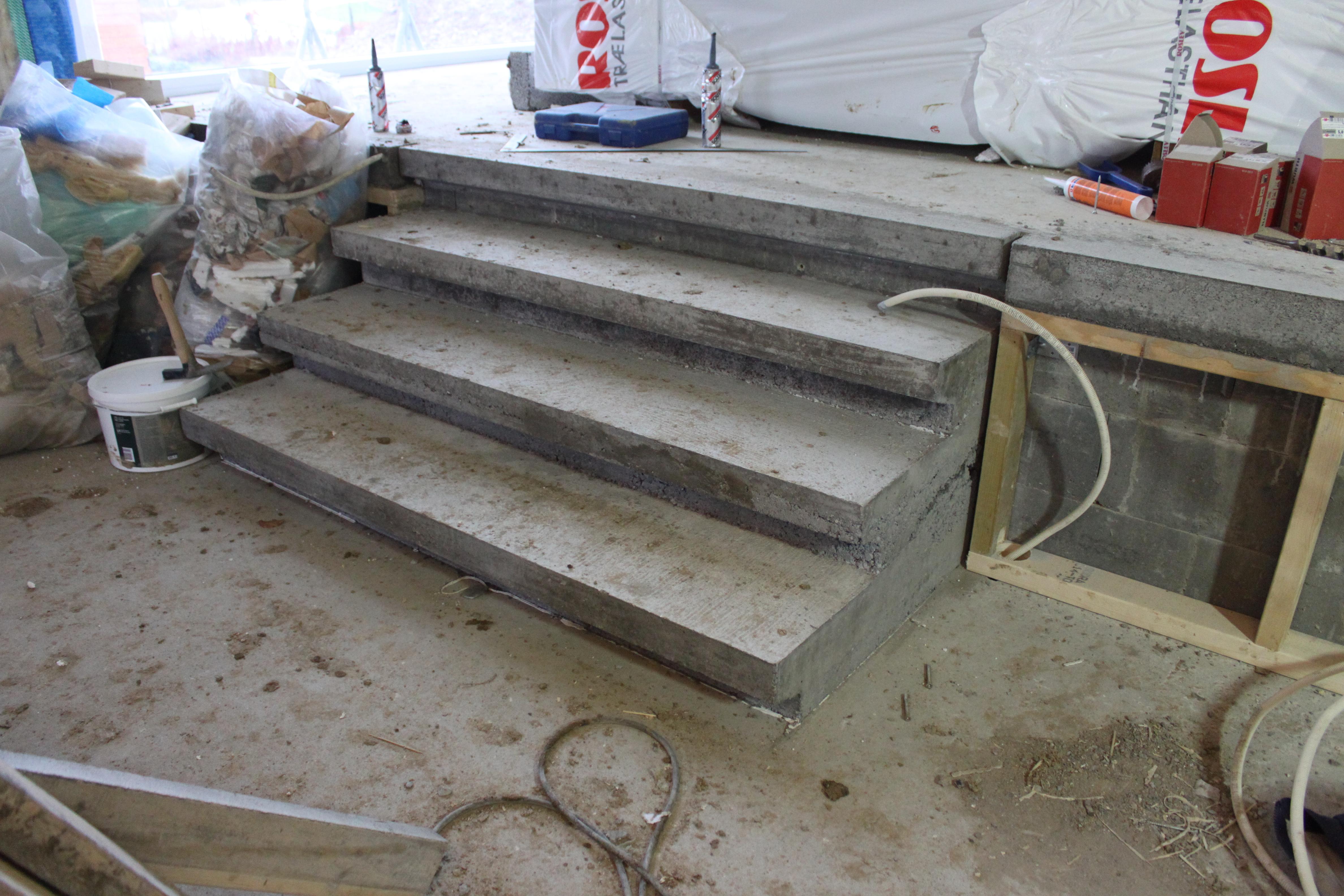 Støbe ny udendørs betontrappe   lav det selv.dk   forum